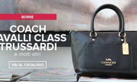 Coach, Cavalli Class, Trussardi nuovi arrivi