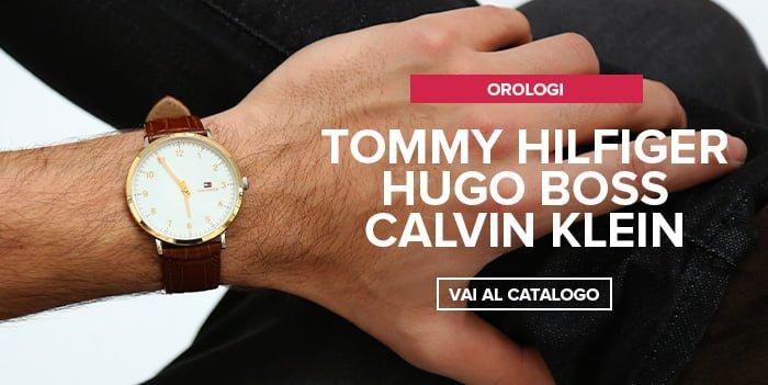 Tommy Hilfiger, Hugo Boss, Calvin Klein nuovi arrivi