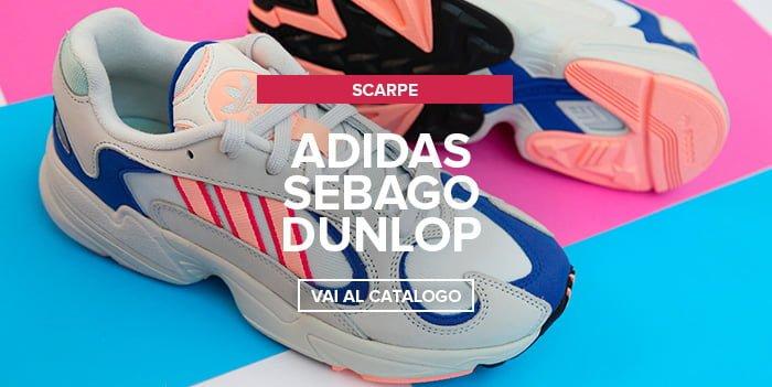 Adidas, Sebago, Dunlop nuovi arrivi