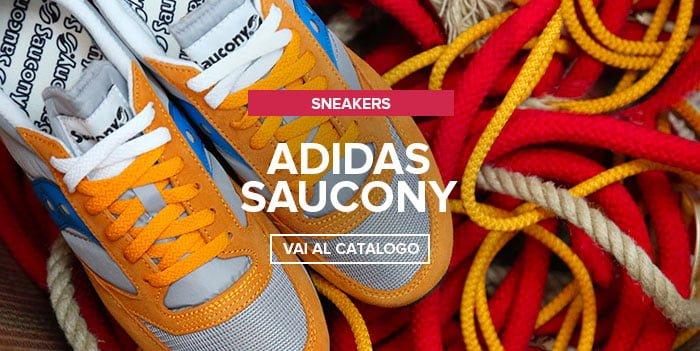 Adidas, Saucony nuovi arrivi